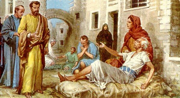 Resultado de imagen para milagros de los discípulos